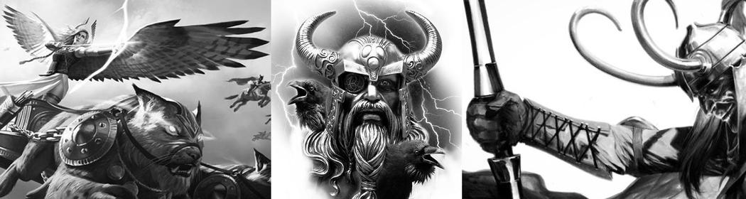 Скандинавская мифология: боги и богини